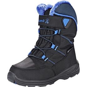 Kamik Stance Boots Kids black blue-noir bleu